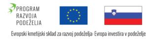 Prejemnik podpore iz Programa razvoja podeželja RS 2014–2020